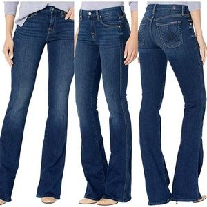 NWOT 7 For All Mankind | Dark Blue Flare Jeans 28